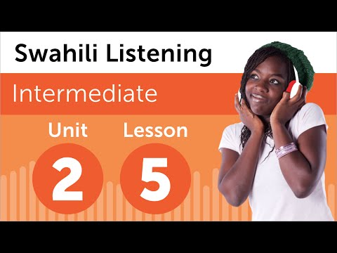 Swahili Listening Practice - Deciding When to Move in Kenya