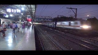 Super Moonlight Capture Of Fascinating Superfast Pushpak Express in 4K !!!!