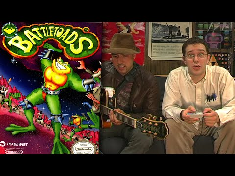 BATTLETOADS - NES Review - Angry Video Game Nerd - Cinemassacre.com