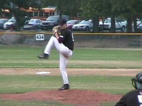 Aaron Crow pitching in the Cape Cod League in summer 2007. Check out our corresponding mechanical analysis of Aaron Crow: http://saberscouting.com/2008/03/26...