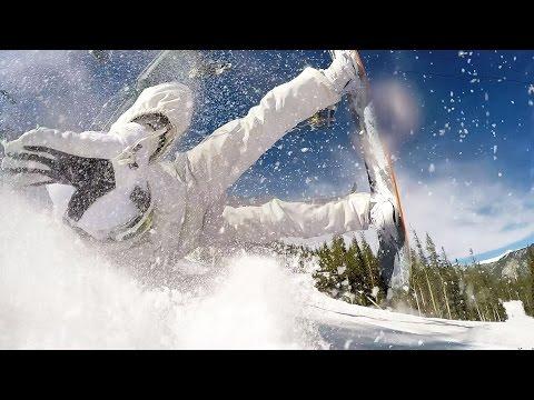 Epic Snowboard Jump Fail at Taos Ski Valley