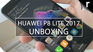 Huawei P8 Lite 2017 Unboxing and Hands-on Review