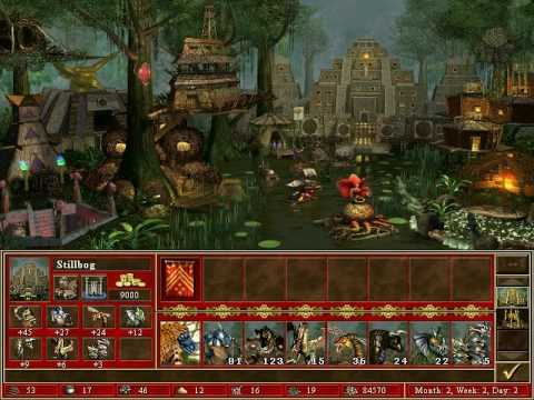Heroes of might and magic iii - Fortress theme