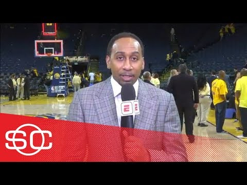 Stephen A. reacts to Warriors' Game 3 blowout over Rockets | SportsCenter | ESPN