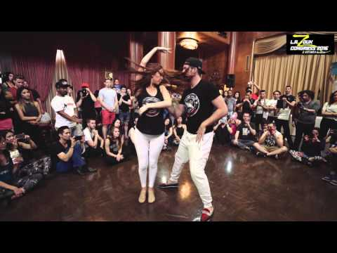Bruno + Stephany - LA Zouk Congress 2016 - Demo - Friday