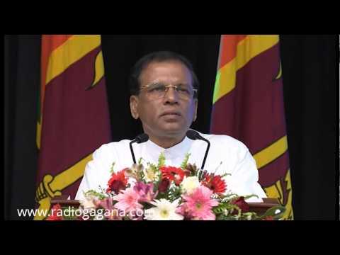 Sri Lanka cannot survive alone says President Sirisena