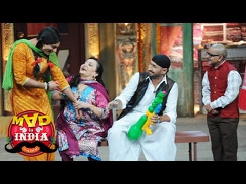 Harbhajan Singh & Chutki's Funny Peformance In  Mad In India 16th March 2014 Full Episode video