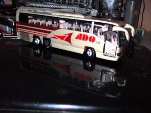 autobuses a escala ADO OCC AEXA AU