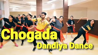 Chogada  | Loveyatri | dandiya dance | fitness workout by amit |