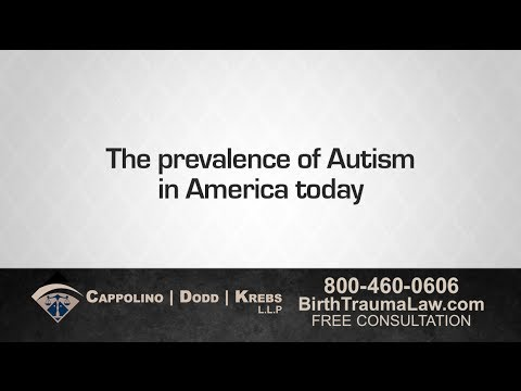 Birth Trauma Attorney Richard Dodd Chronicles the Increasing Rates of Autism