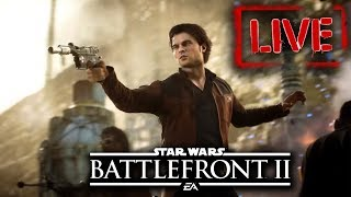 Star Wars Battlefront 2 Kessel Extraction Gameplay Livestream! Han Solo DLC Season 2!