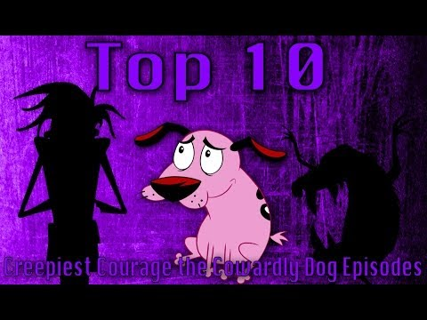 Top 10 Creepiest Courage The Cowardly Dog Episodes Updated #24 video