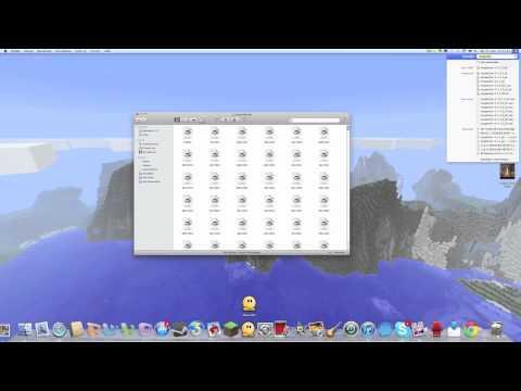 Minecraft Tutorial - TooManyItems 1.8 installieren für Mac [German/Deutsch HD]