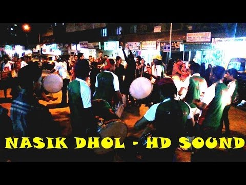 NASHIK  NASIK DHOL ORIGINAL FULL HD SOUND & HD VIDEO INDIA 2014...
