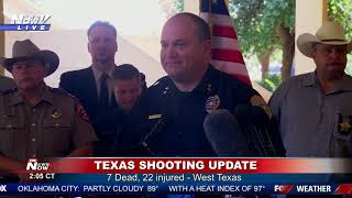 UPDATE: Authorities give the latest from West Texas
