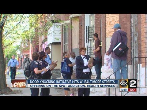 Health groups enact door knocking initiative in West Baltimore