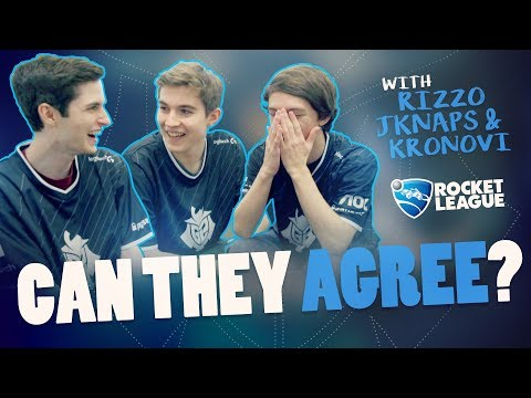 Can They Agree? With G2 Rocket League: Rizzo, JKnaps and Kronovi
