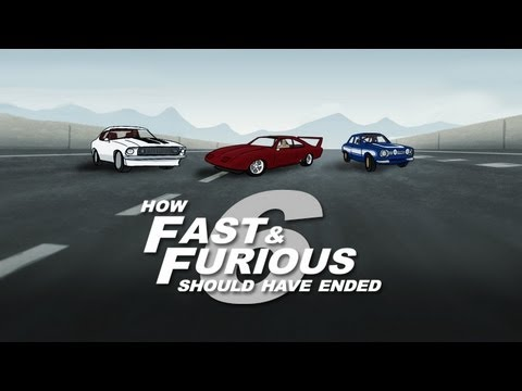 How Fast And Furious 6 Should Have Ended video