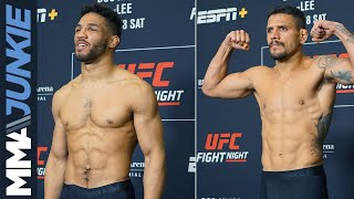 UFC on ESPN+ 10 official weigh-ins in Rochester, N.Y. (Archive of live stream)