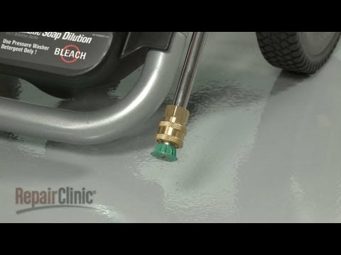 Nozzle - Homelite Pressure Washer