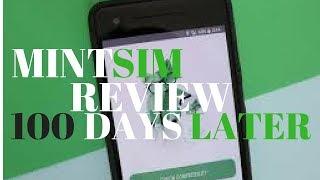 Video review: MintSim 100 days later on 2GB plan best MVNO