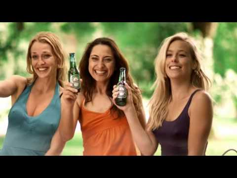 "Heineken ""banned"" TV commercial - Summerbreeze (""Walking Fridge"" sequel)"
