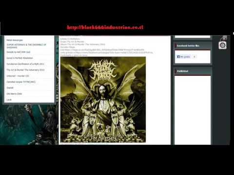 pagina para descargar musica metal