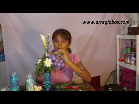 centro de mesa primera comunion www.arreglobos.com
