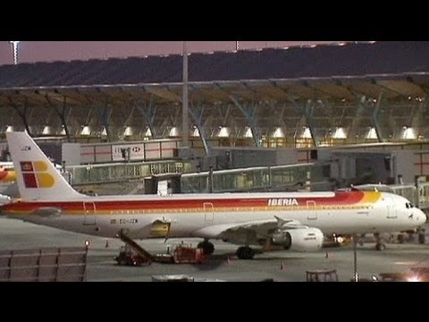 Pilot strike grounds Iberia flights