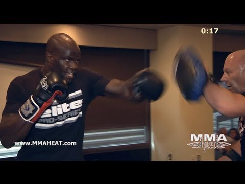 UFC Heavyweight Cheick Kongo Trains Muay Thai, Boxing + Jiu Jitsu: Complete 1-Hour Workout Image 1