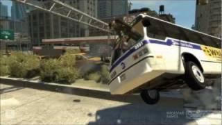 Death Bus 3 (HD) - GTA 4 Crash Compilation