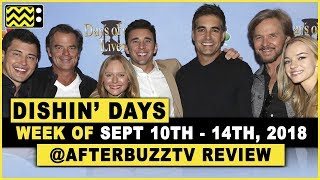 Days Of Our Lives for September 10th - September 14th, 2018 Review & After Show w/ Martha Madison