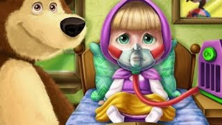 Masha And The Bear Doctor Caring (Маша и Медведь) Games For Kids