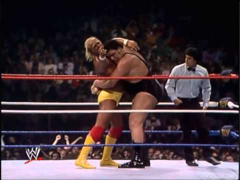 Hulk Hogan vs. Andre the Giant - WrestleMania III