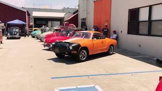 VW Aircooled Rally - Auto Driving Museum, El Segundo 7.15.17