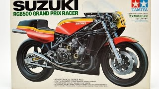 Tamiya kit 1/12 motorcycle Suzuki RGB500 Grand Prix racer JAPAN  64528