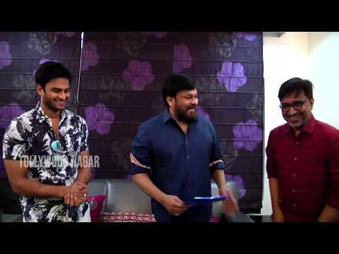 The children's book from #Sammohanam is launched by Chiranjeevi | Sudheer Babu | Tollywood Nagar