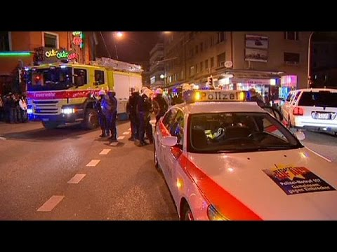 Left-wing extremists run riot in upscale Zurich, Switzerland
