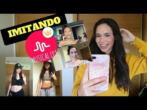 IMITANDO MUSICAL.LY DE FAMOSOS | Paula Díaz