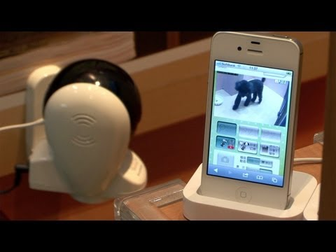 Automatic motion tracking home security camera helps keep your pets safe #DigInfo