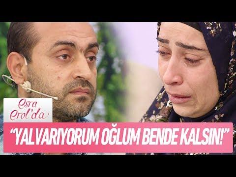 """Kader Hanım: """"Yalvarıyorum oğlum bende kalsın""""  - Esra Erol'da 29 Kasım 2017"""