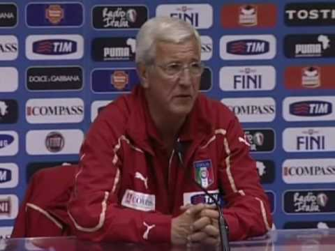 FIFA World Cup 2010 - Italy's Lippi talks about Capello's England and Italy in danger
