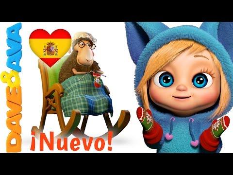 🐑 Сanciones Infantiles   Canciones Infantiles en Español de Dave y Ava   Bee Bee Oveja Negra 🐑