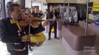 Mariachi Band Prank (Part 1) - Positively Pranked