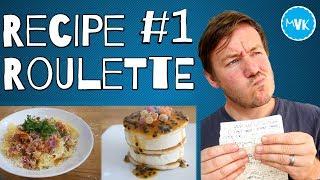 RECIPE ROULETTE #1 -