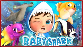 Baby Shark Doo Doo Do Doo | + More Nursery Rhymes & Kids Songs Banana Cartoons