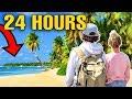 24 HOURS ON AN ISLAND