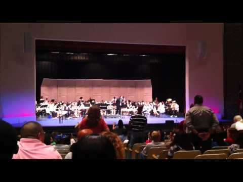 March of the Armed Forces by Clack Middle School Honors Band