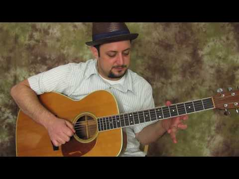 Acoustic Blues Guitar Lesson - Licks And Concepts For The Key Of G