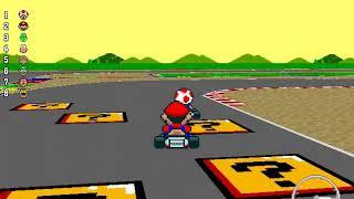 New Super Mario Kart - 150cc Star Cup (Unlocking Red Yoshi)